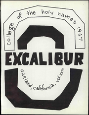 Page 7, 1967 Edition, Holy Names University - Excalibur Yearbook (Oakland, CA) online yearbook collection