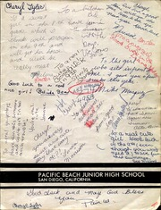 Page 1, 1968 Edition, Pacific Beach Middle School - Surf Rider Yearbook (San Diego, CA) online yearbook collection