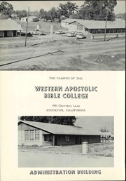 Page 14, 1962 Edition, Western Apostolic Bible College - Our Treasure Yearbook (Stockton, CA) online yearbook collection