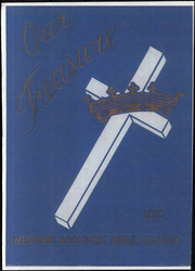 1973 Edition, Western Apostolic Bible College - Our Treasure Yearbook (Stockton, CA)