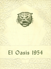 1954 Edition, Twentynine Palms High School - El Oasis Yearbook (Twentynine Palms, CA)
