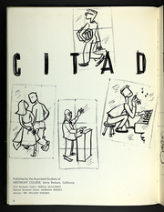 Page 6, 1958 Edition, Westmont College - Citadel Yearbook (Santa Barbara, CA) online yearbook collection