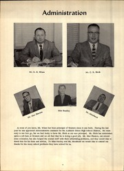 Page 8, 1957 Edition, Western Junior High School - Pioneer Yearbook (Anaheim, CA) online yearbook collection