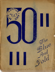 1950 Edition, Lafayette Junior High School - Blue and Gold Yearbook (Los Angeles, CA)