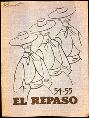 1955 Edition, Las Palmas Junior High School - El Repaso Yearbook (Sacramento, CA)