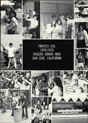 Page 7, 1979 Edition, Rogers Middle School - Pirates Log Yearbook (San Jose, CA) online yearbook collection