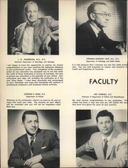 Page 20, 1952 Edition, Los Angeles Chiropractic College - Aesculapian Yearbook (Los Angeles, CA) online yearbook collection