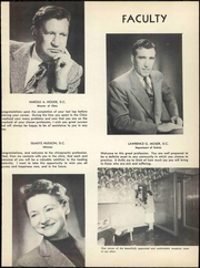 Page 23, 1952 Edition, Los Angeles Chiropractic College - Aesculapian Yearbook (Los Angeles, CA) online yearbook collection