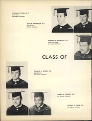 Page 30, 1952 Edition, Los Angeles Chiropractic College - Aesculapian Yearbook (Los Angeles, CA) online yearbook collection