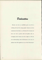 Page 14, 1954 Edition, San Diego Academy - Lighthouse Yearbook (National City, CA) online yearbook collection