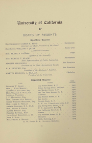 Page 13, 1899 Edition, UCSF School of Dentistry - Chaff Yearbook (San Francisco, CA) online yearbook collection