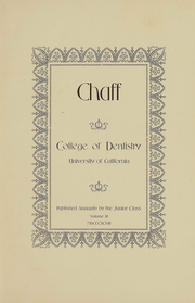 Page 3, 1899 Edition, UCSF School of Dentistry - Chaff Yearbook (San Francisco, CA) online yearbook collection
