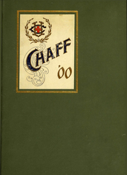 1900 Edition, UCSF School of Dentistry - Chaff Yearbook (San Francisco, CA)