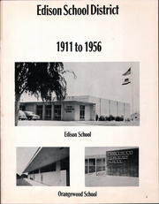 Page 5, 1956 Edition, Edison School District - Panther Yearbook (Bakersfield, CA) online yearbook collection