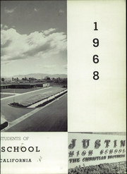 Page 7, 1968 Edition, Justin High School - Brave Yearbook (Napa, CA) online yearbook collection