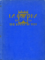 1938 Edition, Corona Junior High School - La Corona Yearbook (Corona, CA)