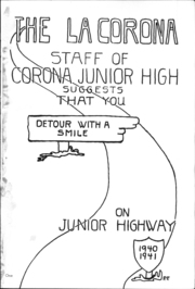 Page 5, 1940 Edition, Corona Junior High School - La Corona Yearbook (Corona, CA) online yearbook collection