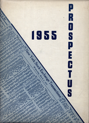 1955 Edition, Stanford Graduate School of Business - Prospectus Yearbook (Palo Alto, CA)
