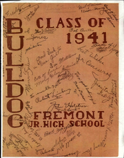 1941 Edition, Fremont Junior High School - Bulldog Yearbook (Pomona, CA)