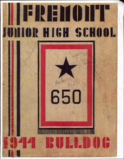 1944 Edition, Fremont Junior High School - Bulldog Yearbook (Pomona, CA)