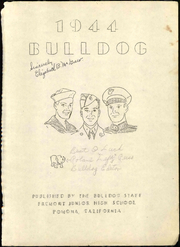 Page 5, 1944 Edition, Fremont Junior High School - Bulldog Yearbook (Pomona, CA) online yearbook collection