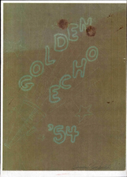 Page 1, 1954 Edition, Cajon Valley Middle School - Golden Echo Yearbook (El Cajon, CA) online yearbook collection