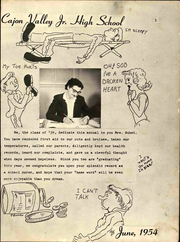 Page 5, 1954 Edition, Cajon Valley Middle School - Golden Echo Yearbook (El Cajon, CA) online yearbook collection