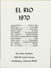 Page 7, 1962 Edition, Rio Lindo Academy - El Rio Yearbook (Healdsburg, CA) online yearbook collection