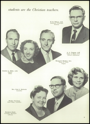 Page 13, 1957 Edition, Newbury Park Academy - Yucca Yearbook (Newbury Park, CA) online yearbook collection