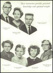 Page 16, 1957 Edition, Newbury Park Academy - Yucca Yearbook (Newbury Park, CA) online yearbook collection