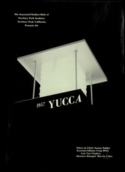Page 5, 1957 Edition, Newbury Park Academy - Yucca Yearbook (Newbury Park, CA) online yearbook collection