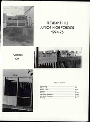 Page 3, 1975 Edition, Pleasant Hill Middle School - Yearbook (Pleasant Hill, CA) online yearbook collection