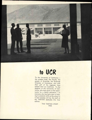 Page 8, 1955 Edition, University of California Riverside - Tartan Yearbook (Riverside, CA) online yearbook collection