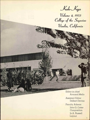 Page 7, 1953 Edition, College of the Sequoias - Koh Kyo Yearbook (Visalia, CA) online yearbook collection