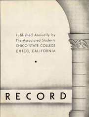 Page 9, 1938 Edition, California State University Chico - Record Yearbook (Chico, CA) online yearbook collection