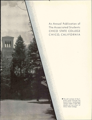 Page 9, 1939 Edition, California State University Chico - Record Yearbook (Chico, CA) online yearbook collection