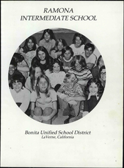 Page 7, 1975 Edition, Ramona Middle School - Yearbook (La Verne, CA) online yearbook collection