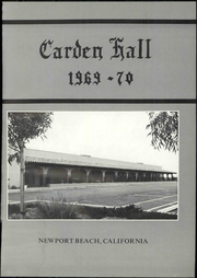 Page 7, 1970 Edition, Carden Hall School - Yearbook (Newport Beach, CA) online yearbook collection