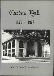 Page 7, 1972 Edition, Carden Hall School - Yearbook (Newport Beach, CA) online yearbook collection