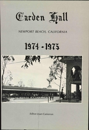 Page 7, 1975 Edition, Carden Hall School - Yearbook (Newport Beach, CA) online yearbook collection