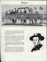 Page 6, 1965 Edition, Ortega Junior High School - Trailblazer Yearbook (Sunnyvale, CA) online yearbook collection
