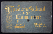 1907 Edition, Western School of Commerce - Yearbook (Stockton, CA)