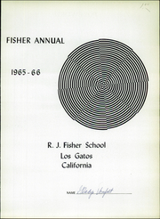 Page 5, 1966 Edition, Raymond J Fisher Middle School - Kitten Yearbook (Los Gatos, CA) online yearbook collection