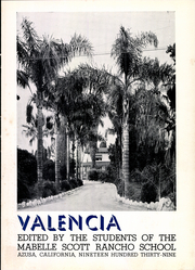 Page 7, 1939 Edition, Mabelle Scott Rancho School - Valencia Yearbook (Azusa, CA) online yearbook collection