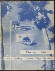 Sun Valley Junior High School - Pioneer Yearbook (Sun Valley, CA) online yearbook collection, 1968 Edition, Page 1