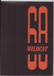 1968 Edition, Oxford Junior High School - Wildcat Yearbook (Cypress, CA)