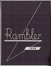 1959 Edition, Fresno City College - Rambler Yearbook (Fresno, CA)