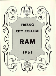 Page 7, 1961 Edition, Fresno City College - Rambler Yearbook (Fresno, CA) online yearbook collection