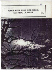 1976 Edition, Horace Mann Middle School - Cougar Yearbook (San Diego, CA)