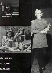 Page 9, 1968 Edition, La Cumbre Junior High School - La Cumbrean Yearbook (Santa Barbara, CA) online yearbook collection